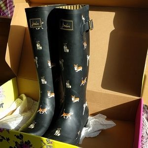Joules dog wellies- size 8